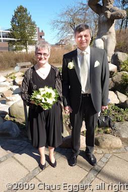 Bryllup dagen